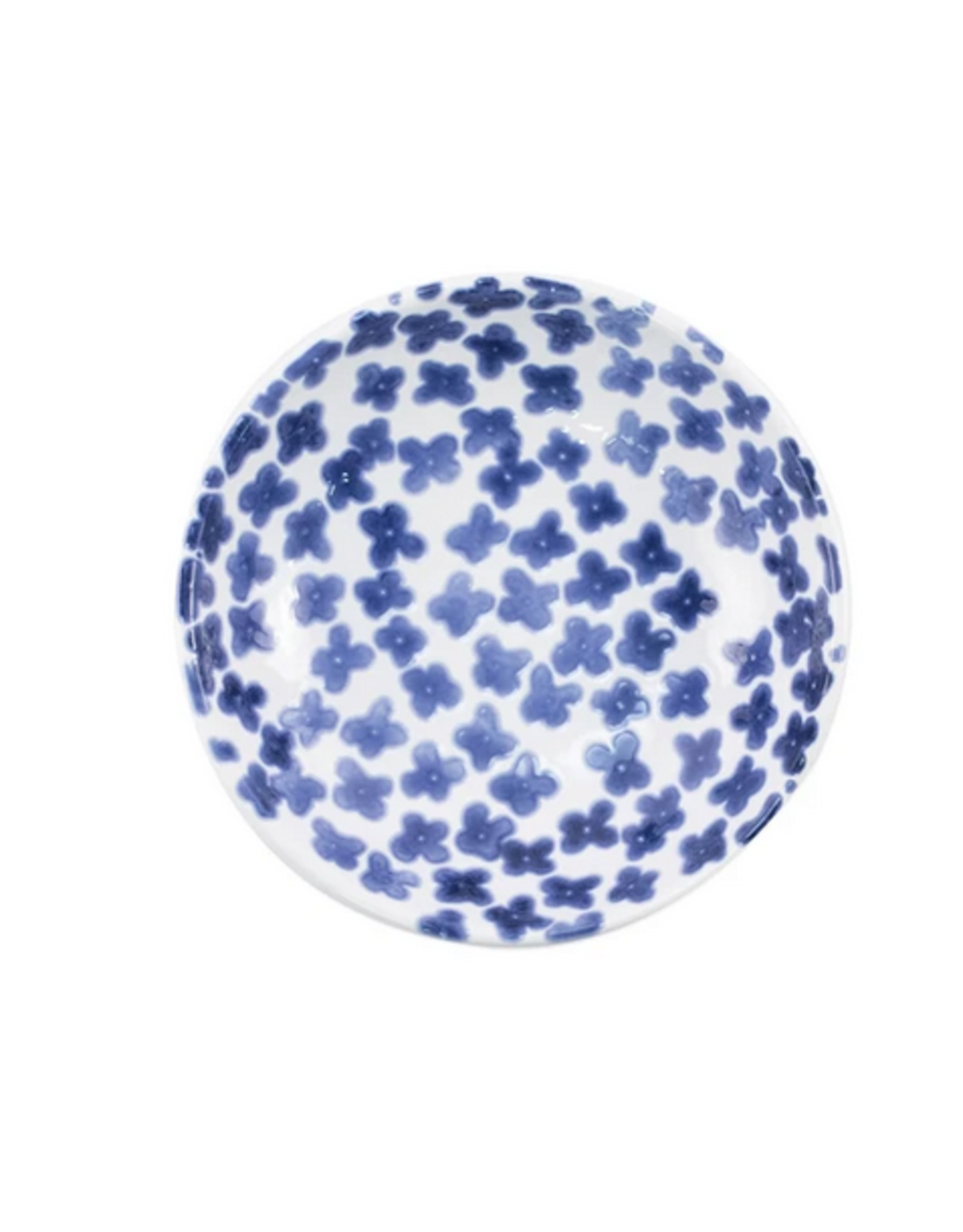 Vietri Santorini Flower Condiment Bowl