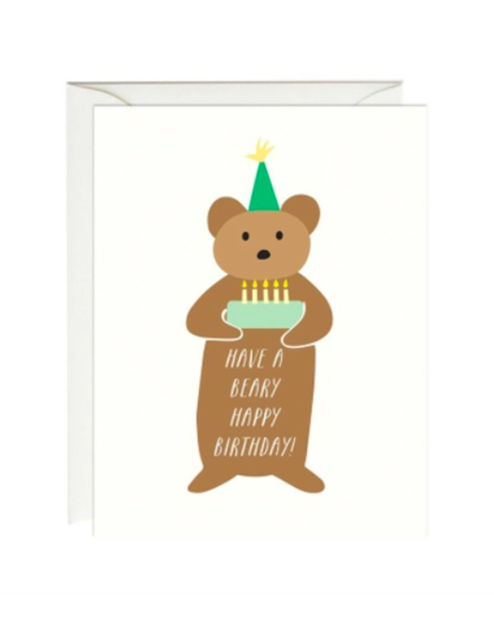 Paula and Waffle Beary Happy Birthday Card