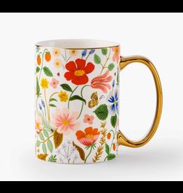 Rifle Paper Co. Strawberry Fields Porcelain Mug