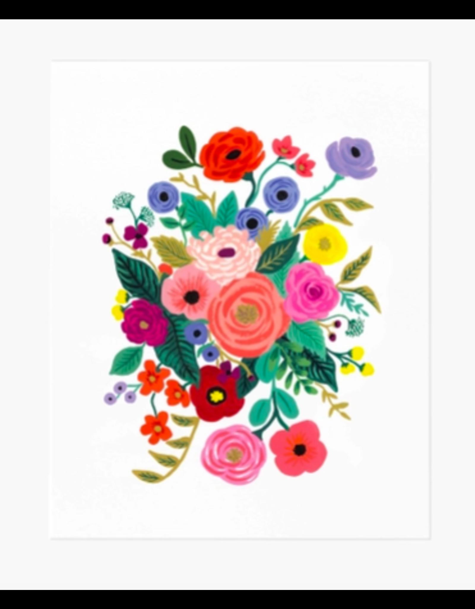 Rifle Paper Co. Juliet Rose Bouquet Art Print 8x10