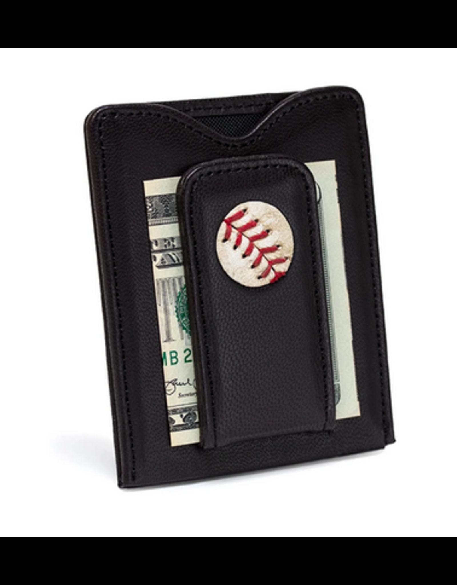 Tokens & Icons Red Sox Baseball Wallet