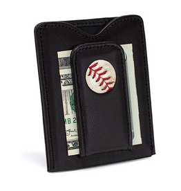 Tokens & Icons Red Sox Baseball Wallet