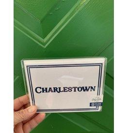 Casey Circle Charlestown Navy Border Card Boxed Set