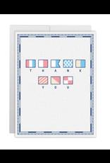 Casey Circle Signal Flag Thank You Card
