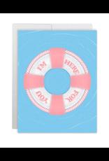 Casey Circle Lifesaver Card