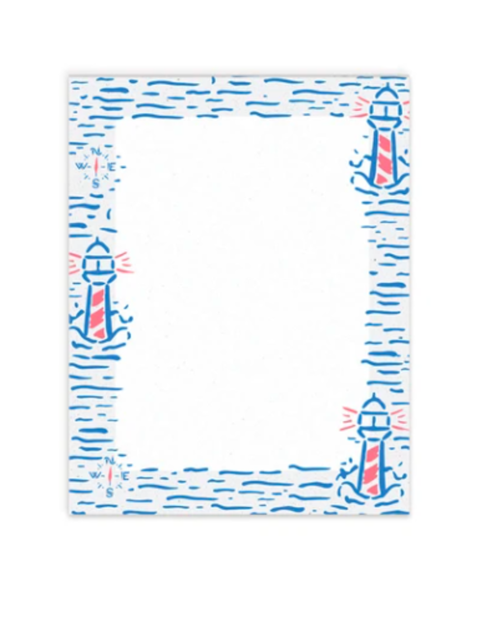 Casey Circle Lighthouse Pattern Notepad