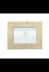 Mariposa Sand Faux Grasscloth 4x6 Frame