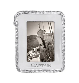 Mariposa Captain Rope Statement 5x7 Frame
