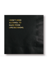 Sapling Press Life Decisions Napkins