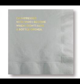 Sapling Press Bottle Opener Napkins