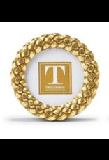 Circle Braided Gold Frame 3x3