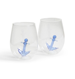 Decor Shop by Place & Gather Anchor Stemless Wine Glass