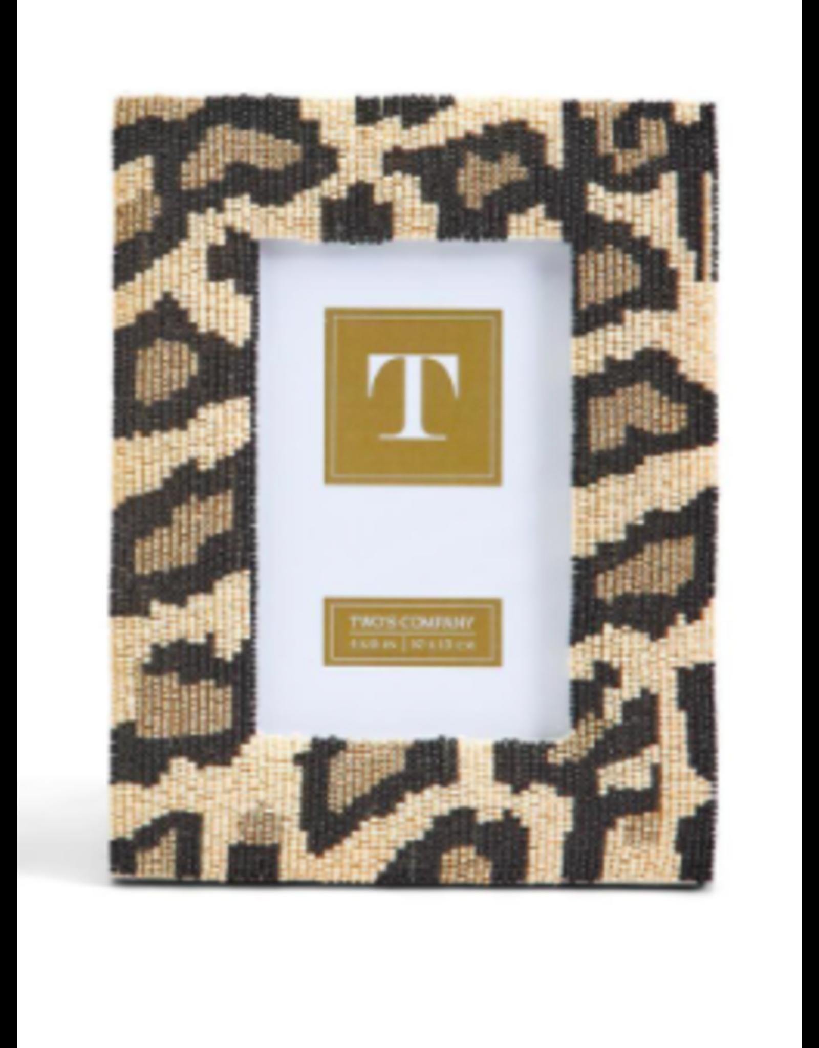 Wild Side Leopard Frame 4x5