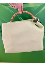 Accessories Shop by Place & Gather Mint Bamboo Handle Tote