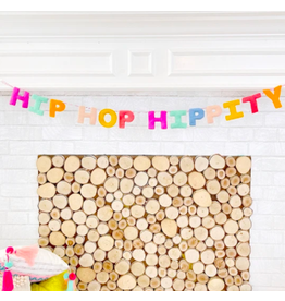 Kailo Chic Hip Hop Hippity Felt Garland