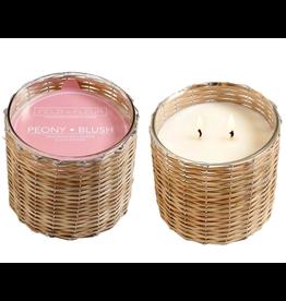 Field + Fleur Peony Blush 2-Wick Candle
