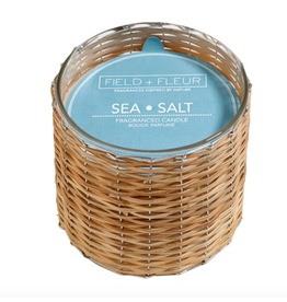 Field + Fleur Sea Salt 2-Wick Candle