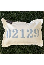 Marshes Fields and Hills 02129 12x18 Pillow in Sky Blue