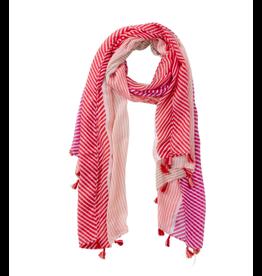 Pink & Purple Cali Stripes Scarf