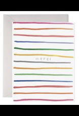 E. Frances Merci Stripes Card
