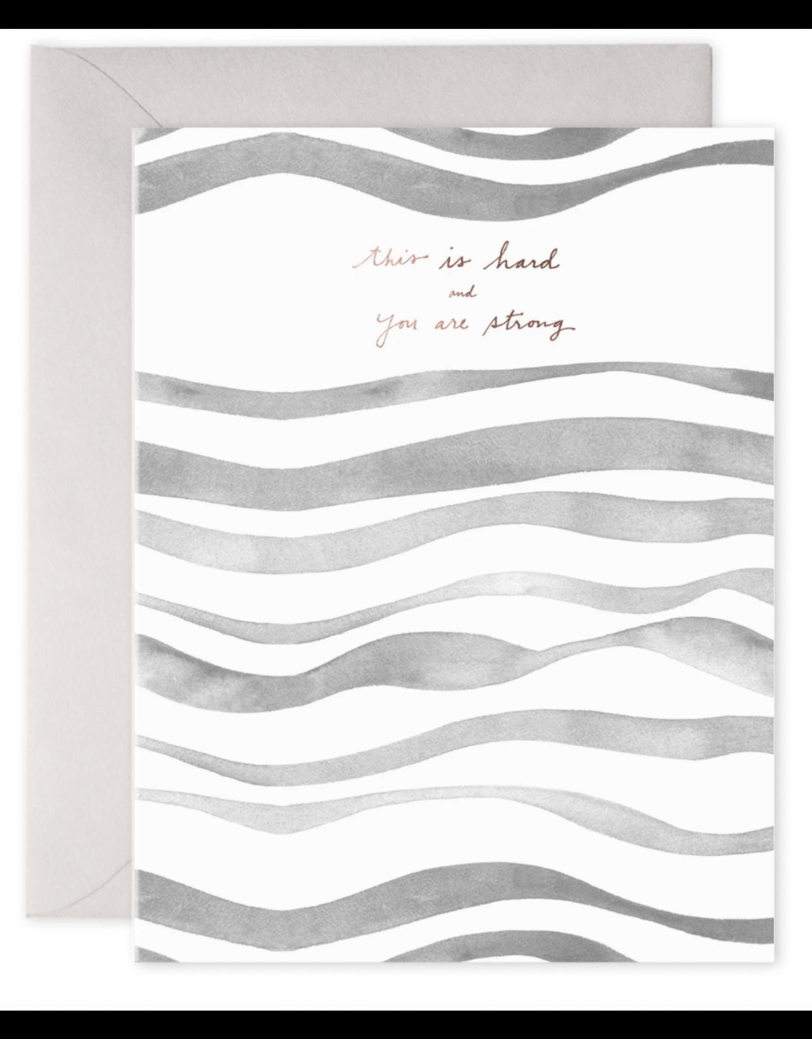 E. Frances Grey Waves Card