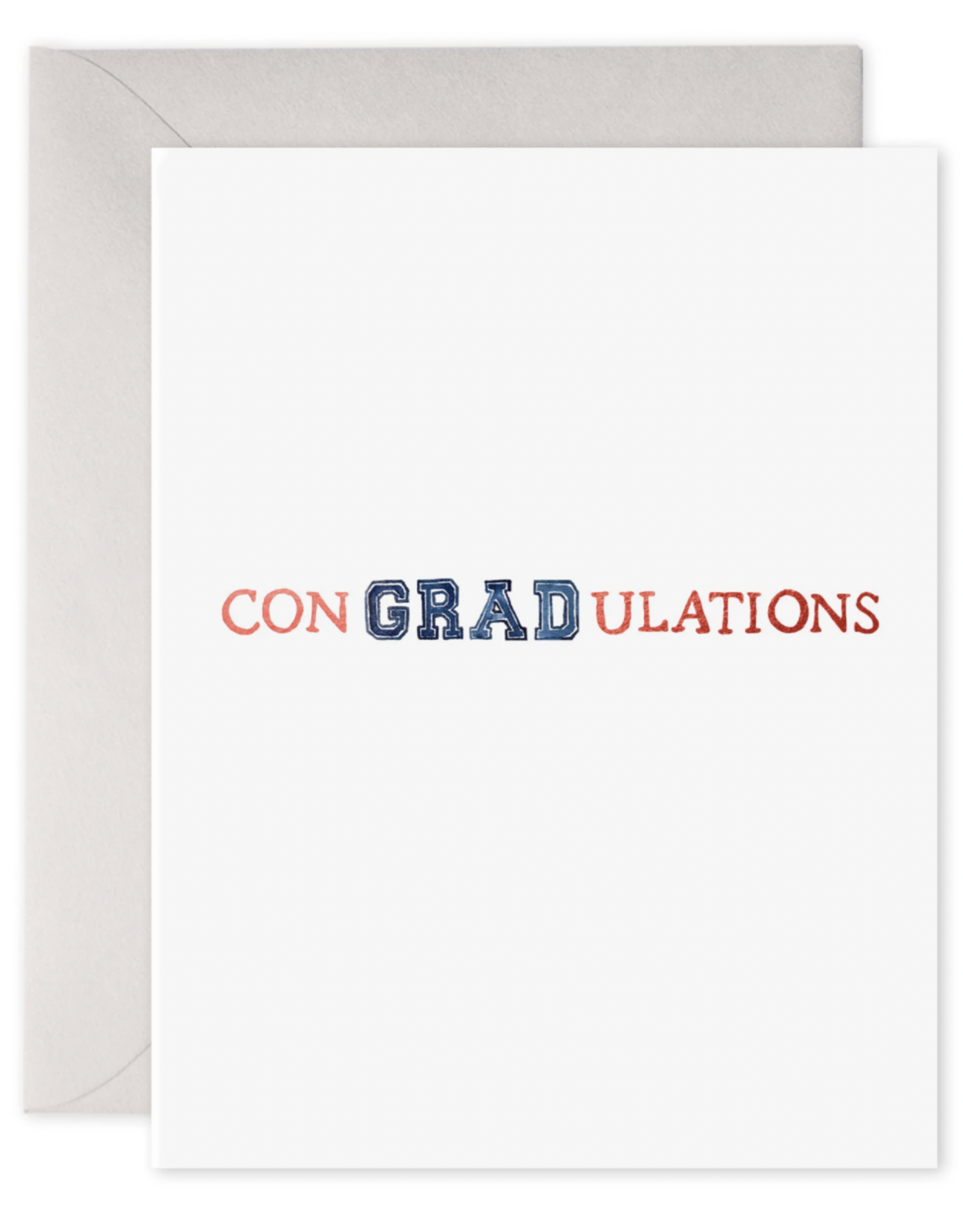 E. Frances ConGRADulations Card