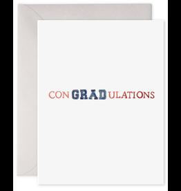 E. Frances ConGRADulations Card