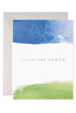 E. Frances Adventure Awaits Card