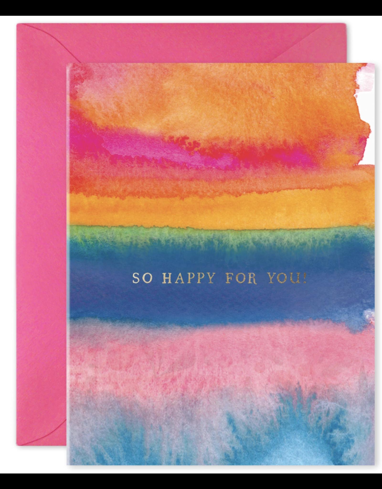 E. Frances So Happy For You Card