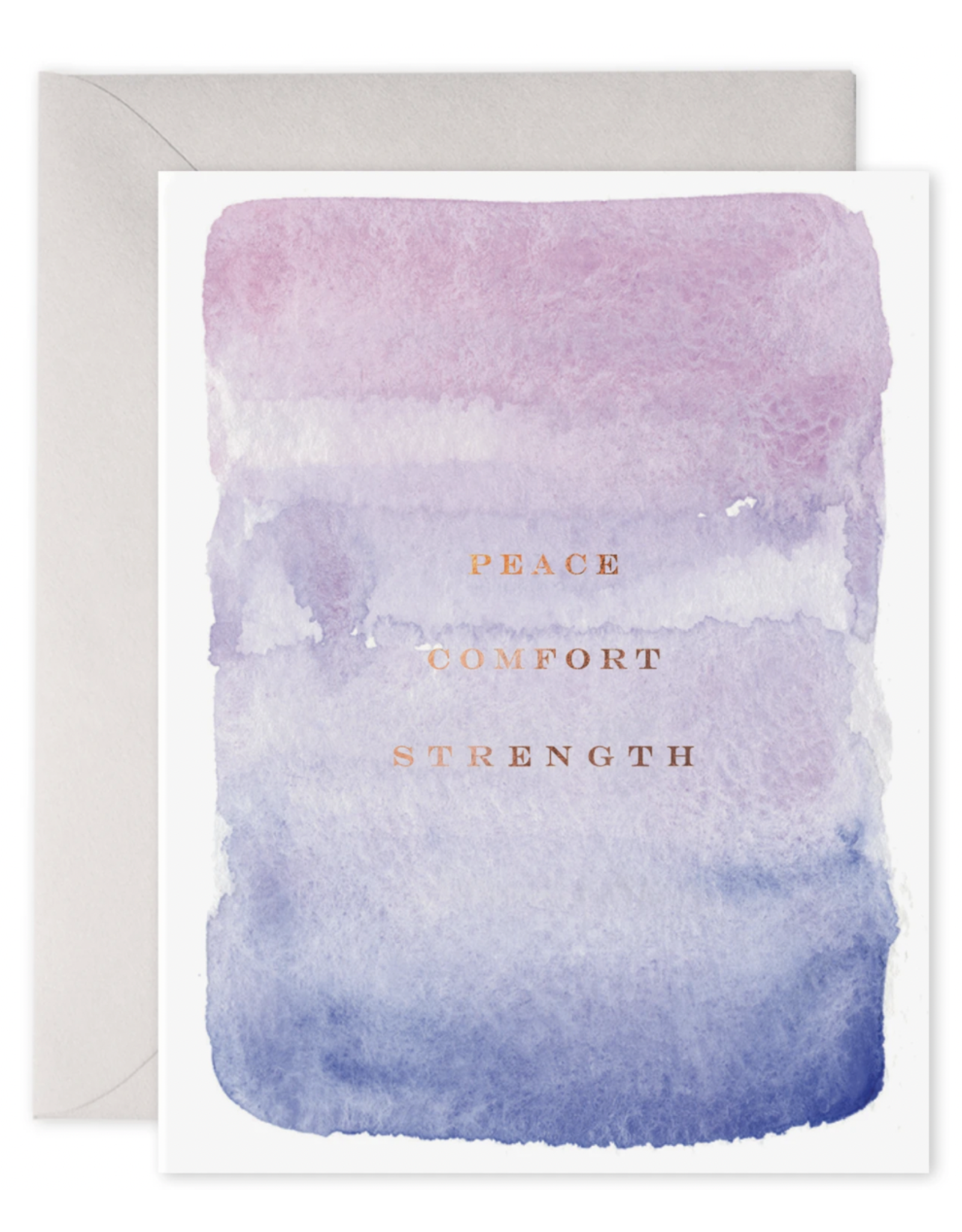 E. Frances Peace, Comfort, Strength Card