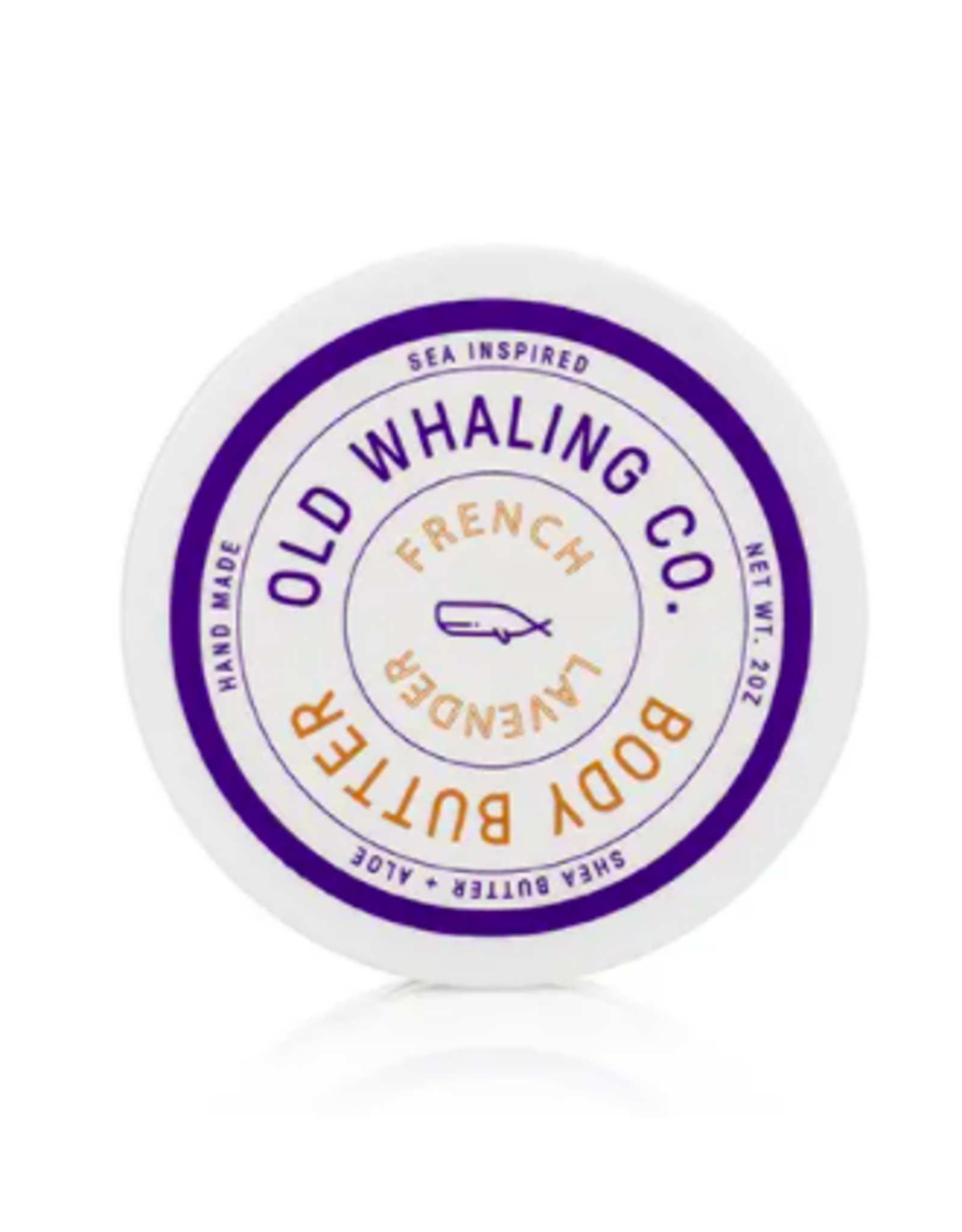 Old Whaling Co. Lavender 2oz Body Butter