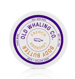 Old Whaling Co. French Lavender 2oz Body Butter