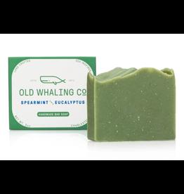 Old Whaling Co. Spearmint & Eucalyptus 5.5oz Bar Soap