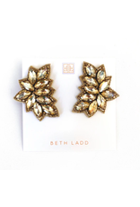 Beth Ladd Collection Crosby Stud in Gold by Beth Ladd