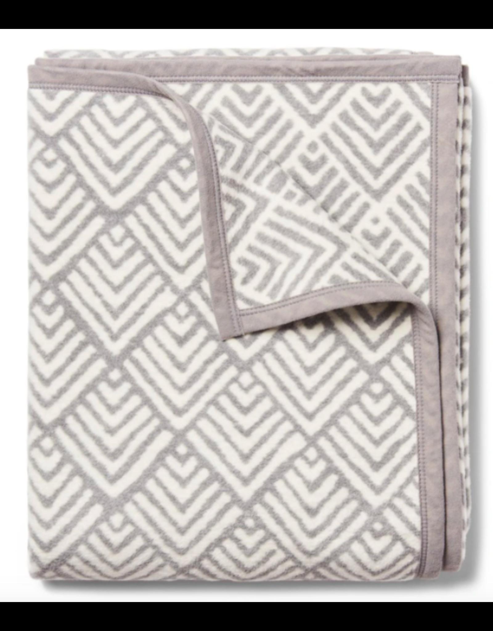 ChappyWrap Oyster Cove Diamonds in Grey Blanket by ChappyWrap