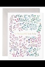 E. Frances Bride to Be Card