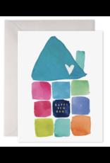 E. Frances Happy New Home Card