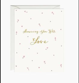 Paula and Waffle Showering Love Card