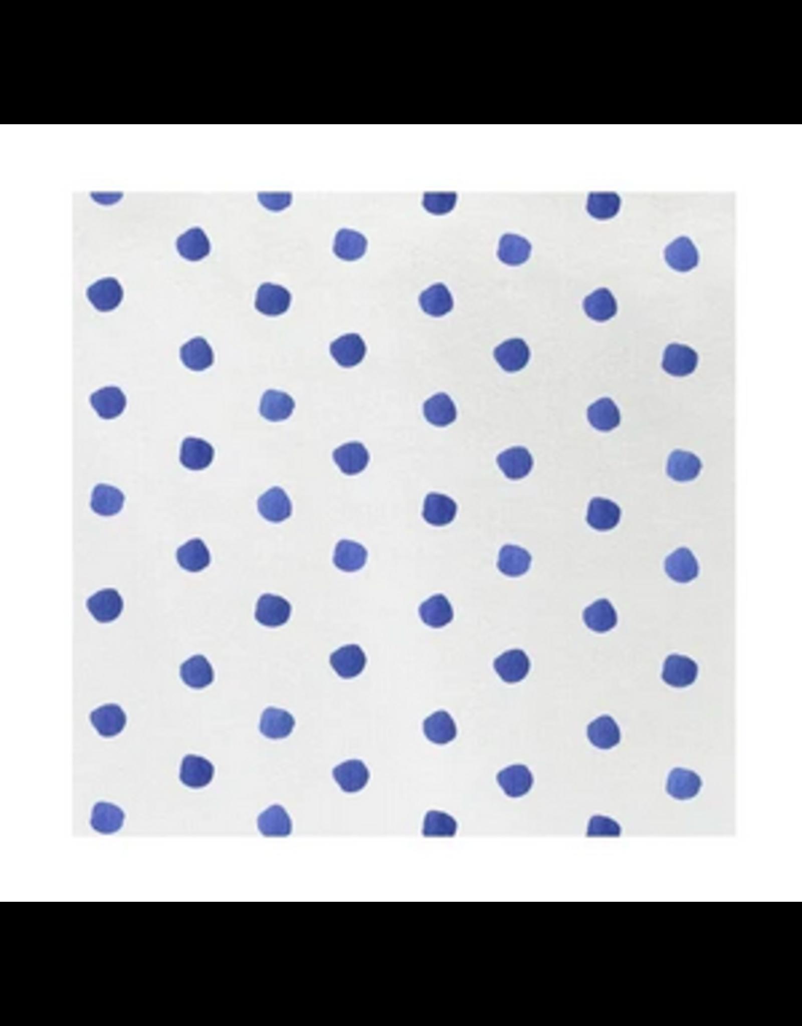 Vietri Blue Dot Cocktail Napkins