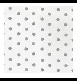 Vietri Light Gray Dot Cocktail Napkins