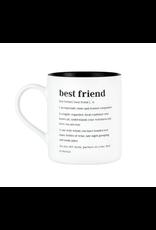 About Face Designs Best Friend Mug