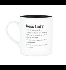 About Face Designs Boss Lady Mug