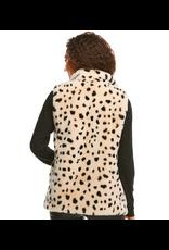 Donna Salyers Fabulous Furs Wild Cheetah Faux Fur BFF Vest Size Medium
