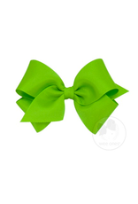 Wee Ones Wee Ones Small Bow in Apple Green