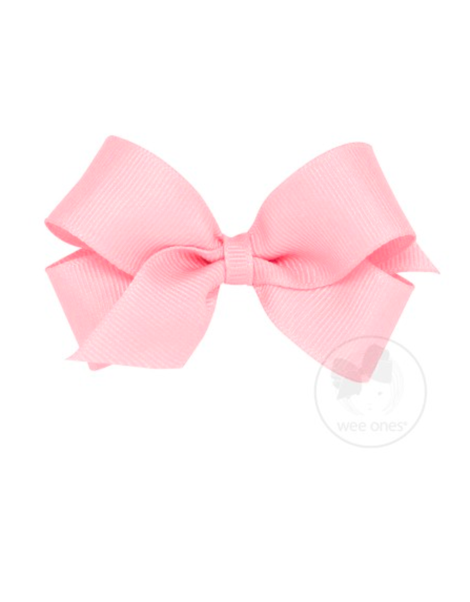 Wee Ones Wee Ones Mini Bow in Light Pink