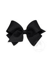 Wee Ones Wee Ones Small Bow in Black