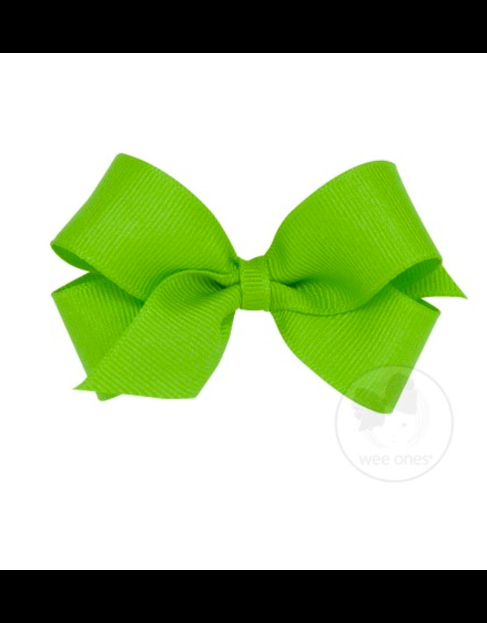 Wee Ones Wee Ones Mini Bow in Apple Green