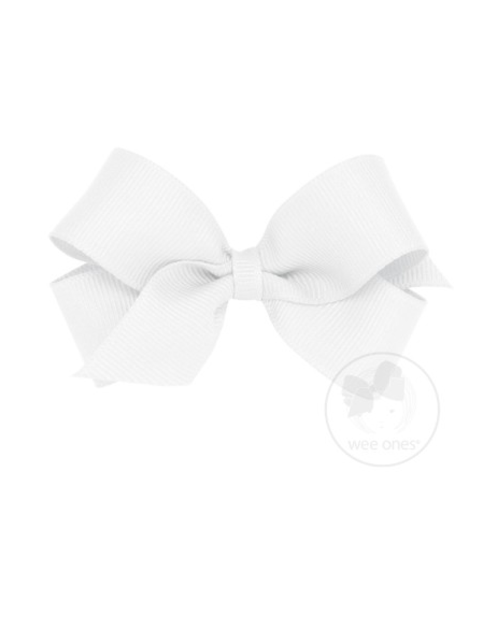 Wee Ones Wee Ones Mini Bow in White