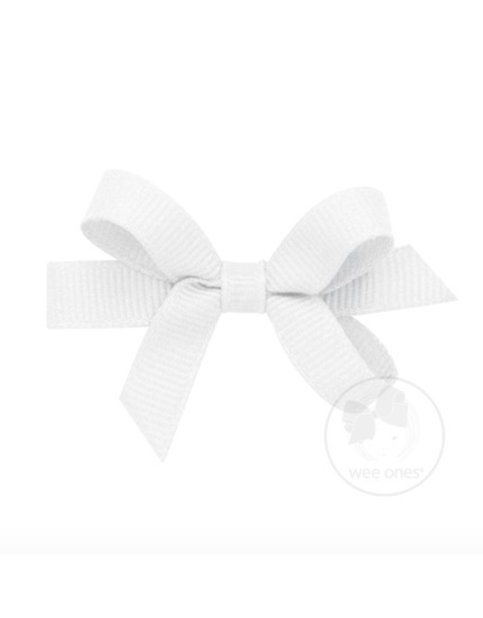 Wee Ones Wee Ones Tiny Bow in White