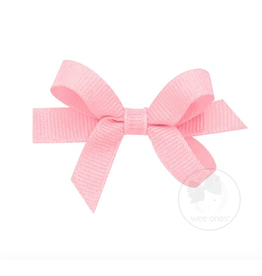 Wee Ones Wee Ones Tiny Bow in Light Pink